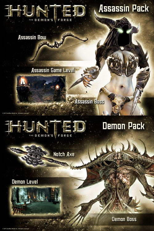 Арт Hunted: The Demon's Forge