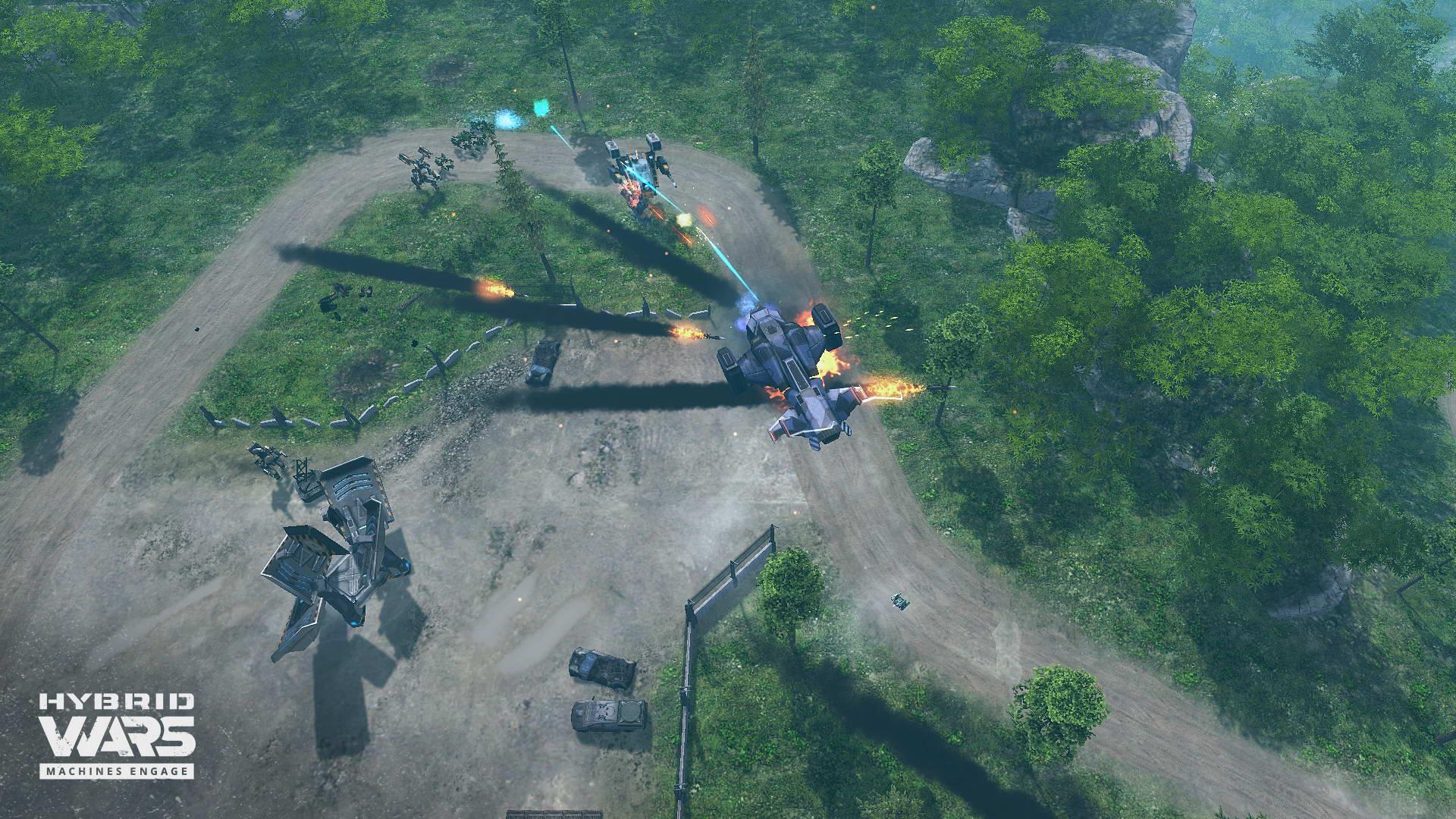 Скриншот Hybrid Wars