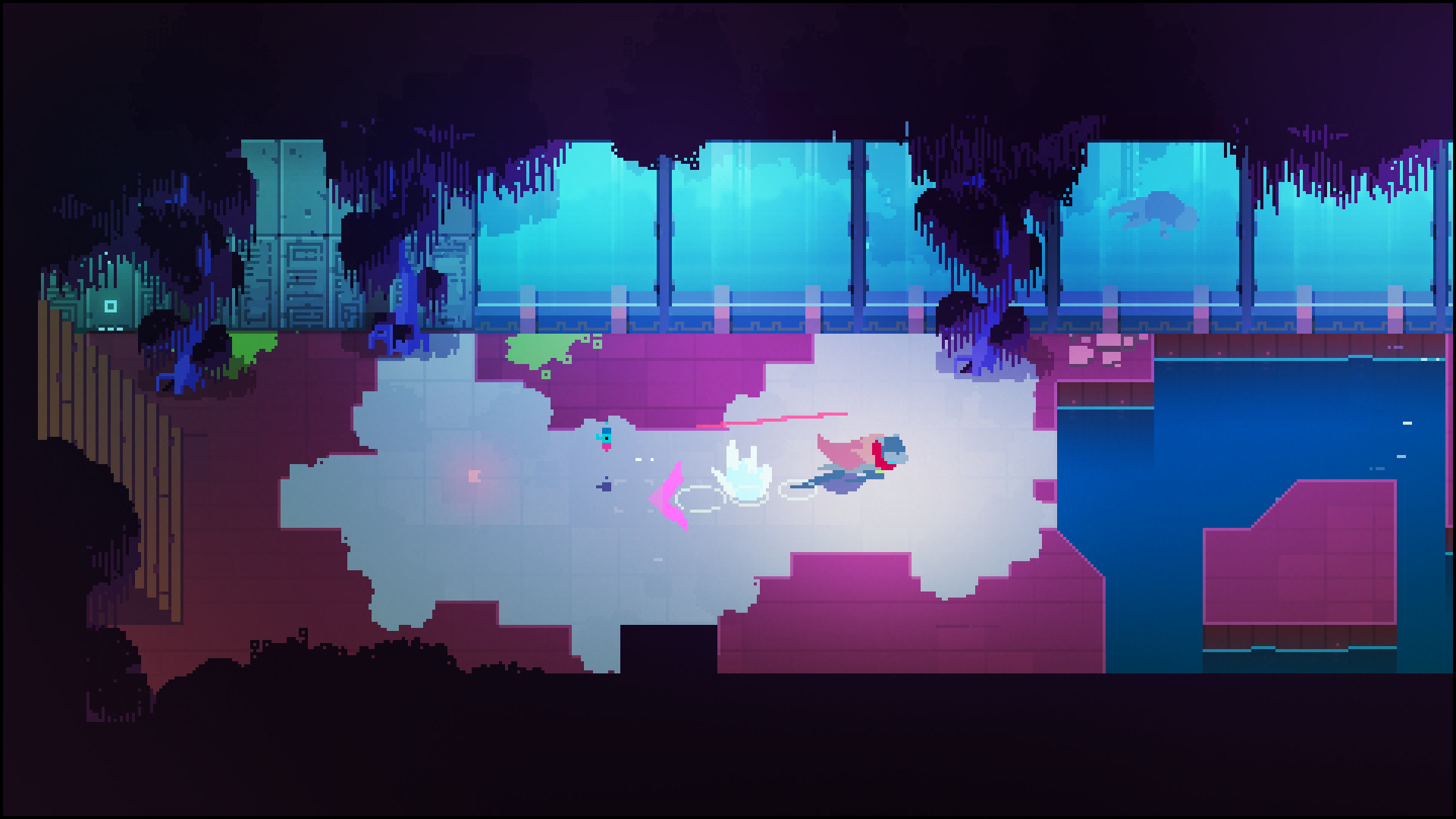 Скриншот Hyper Light Drifter