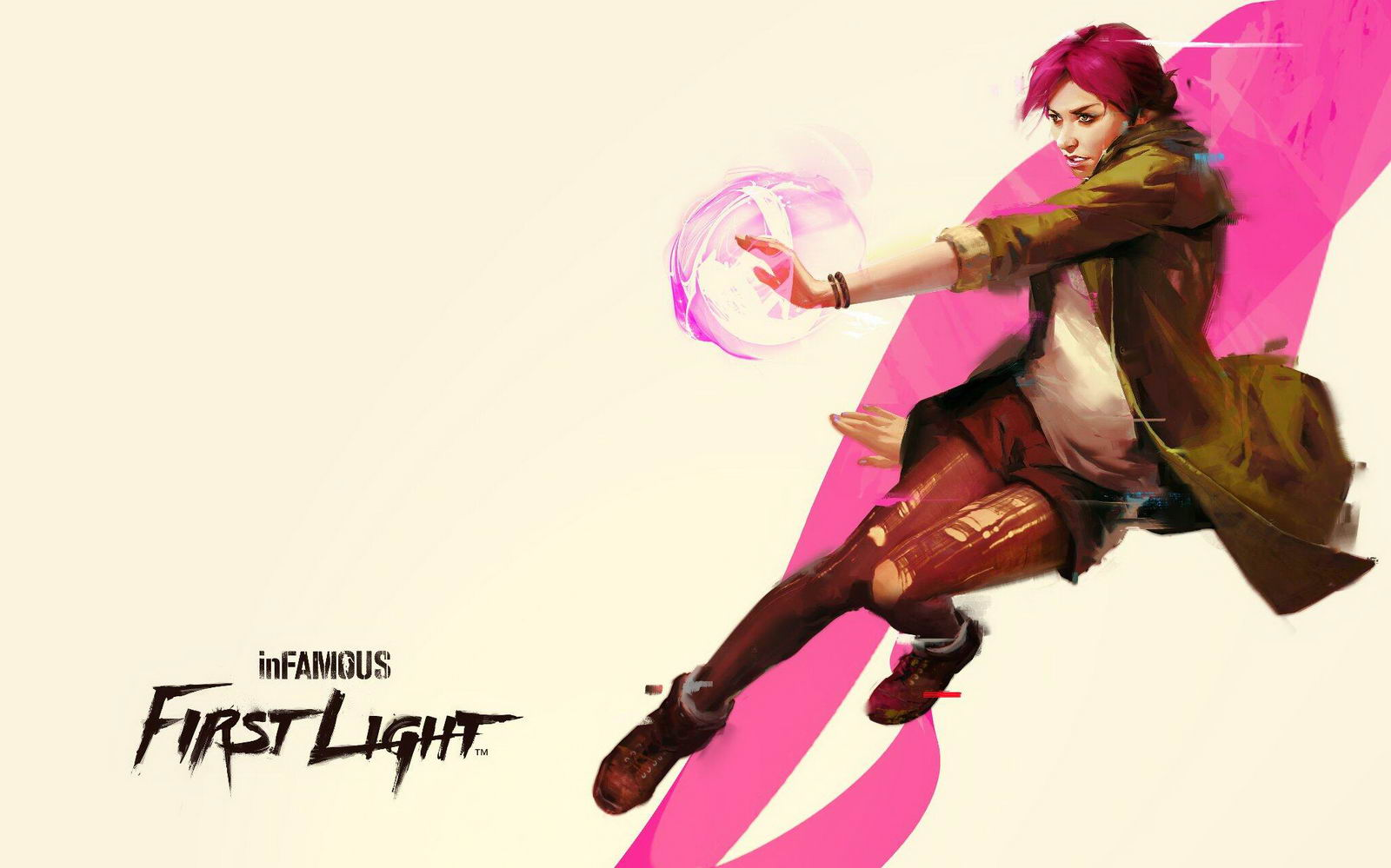 Арт InFamous First Light