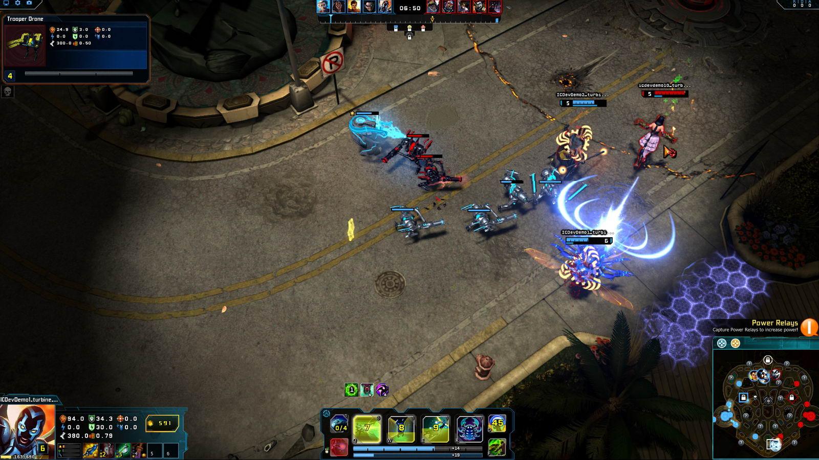 Скриншот Infinite Crisis