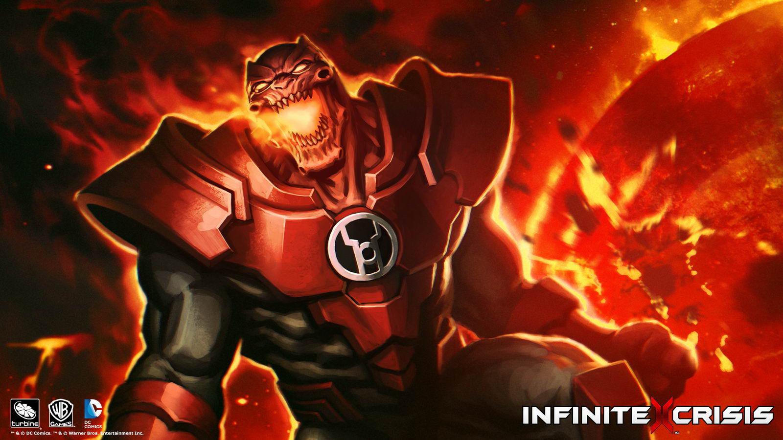 Арт Infinite Crisis