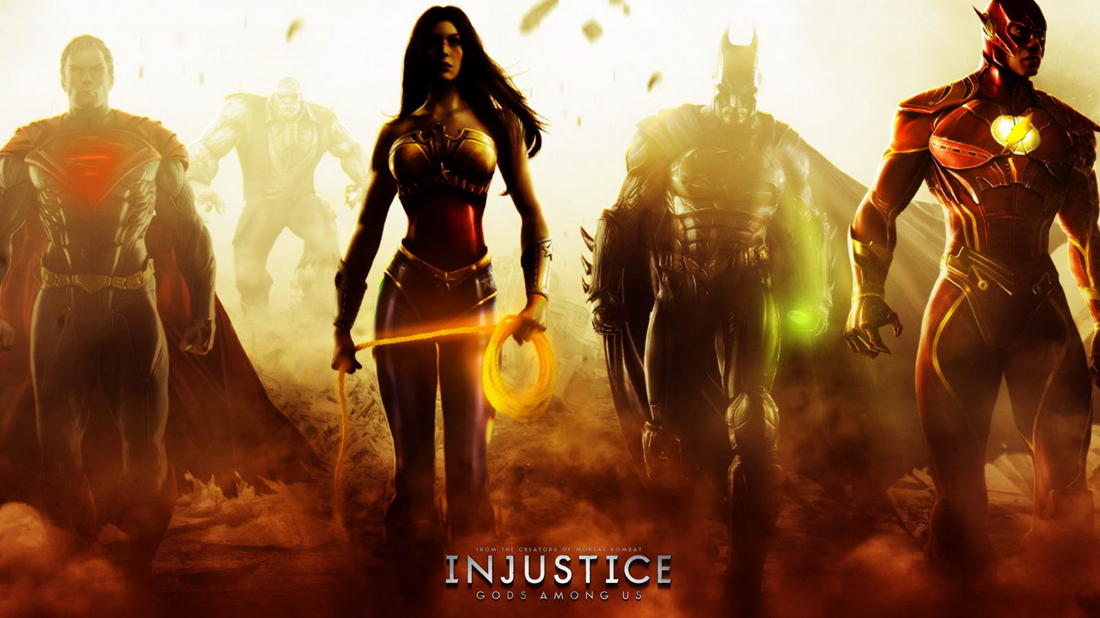 Арт Injustice: Gods Among Us