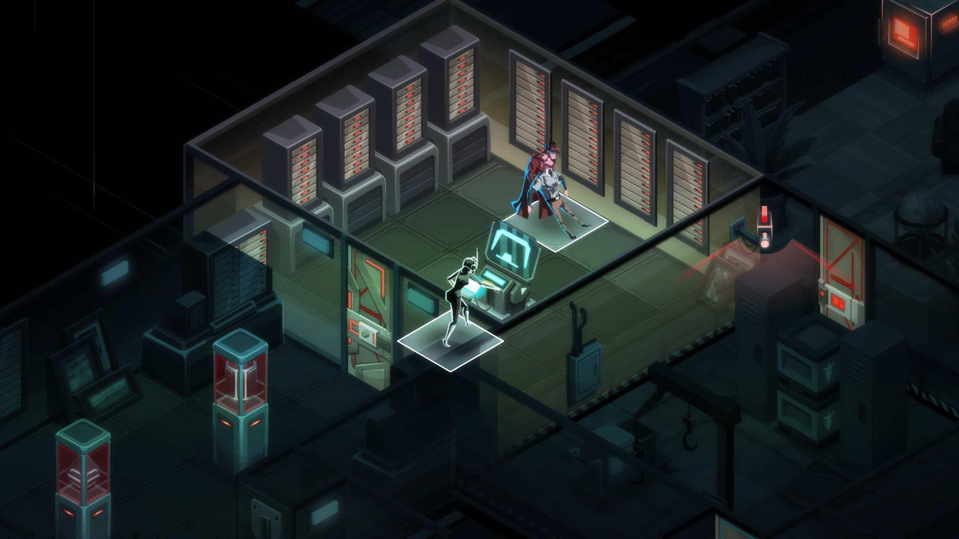 Скриншот Invisible, Inc.