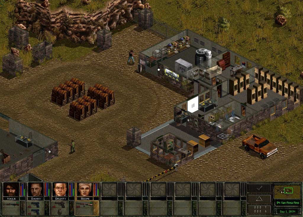 Скриншот Jagged Alliance 2