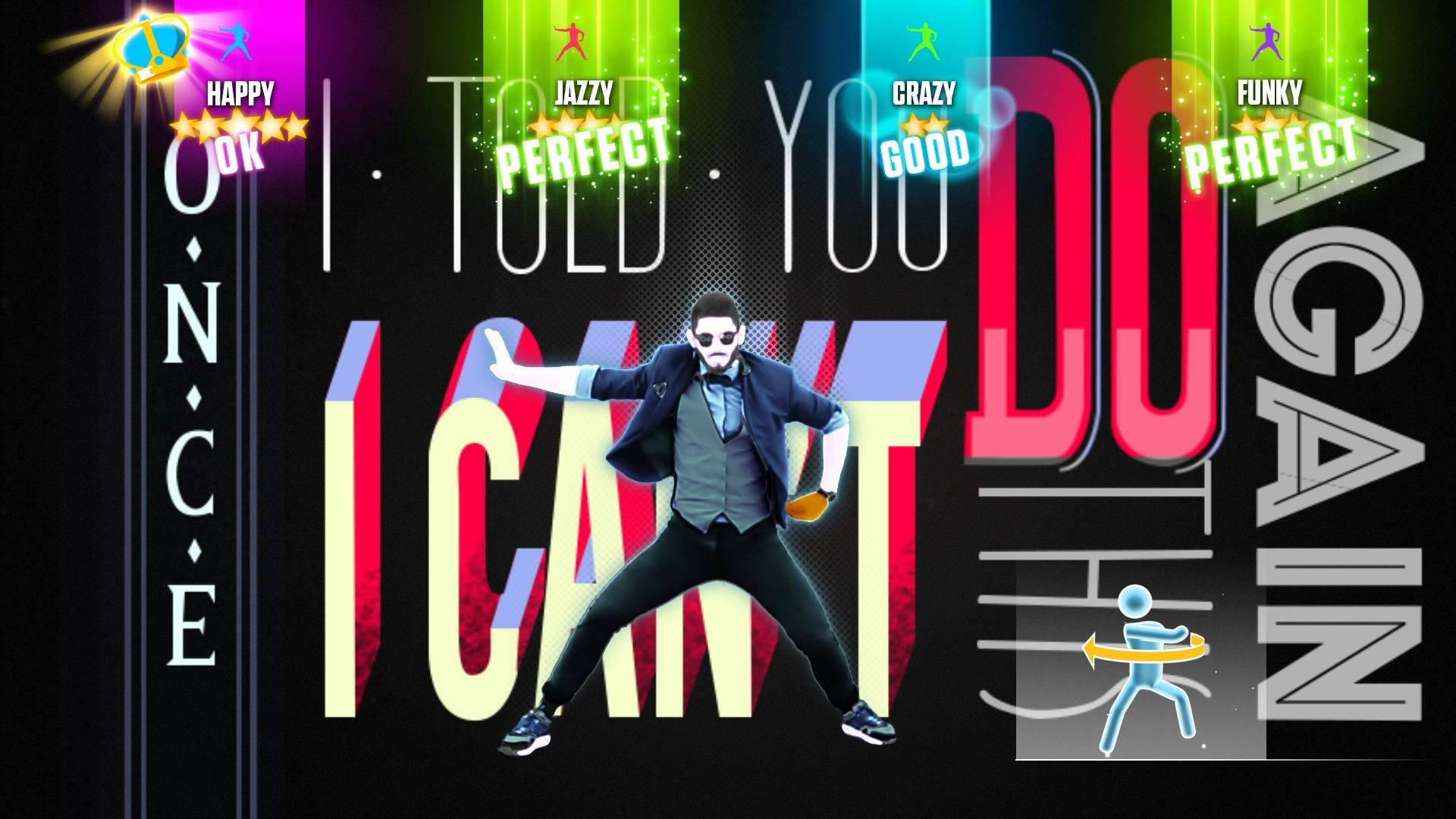 Скриншот Just Dance 3