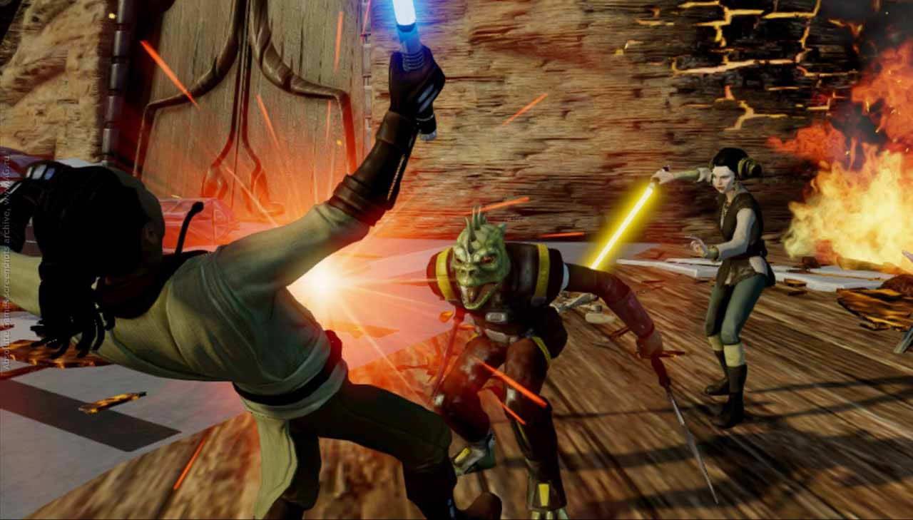 Скриншот Kinect Star Wars