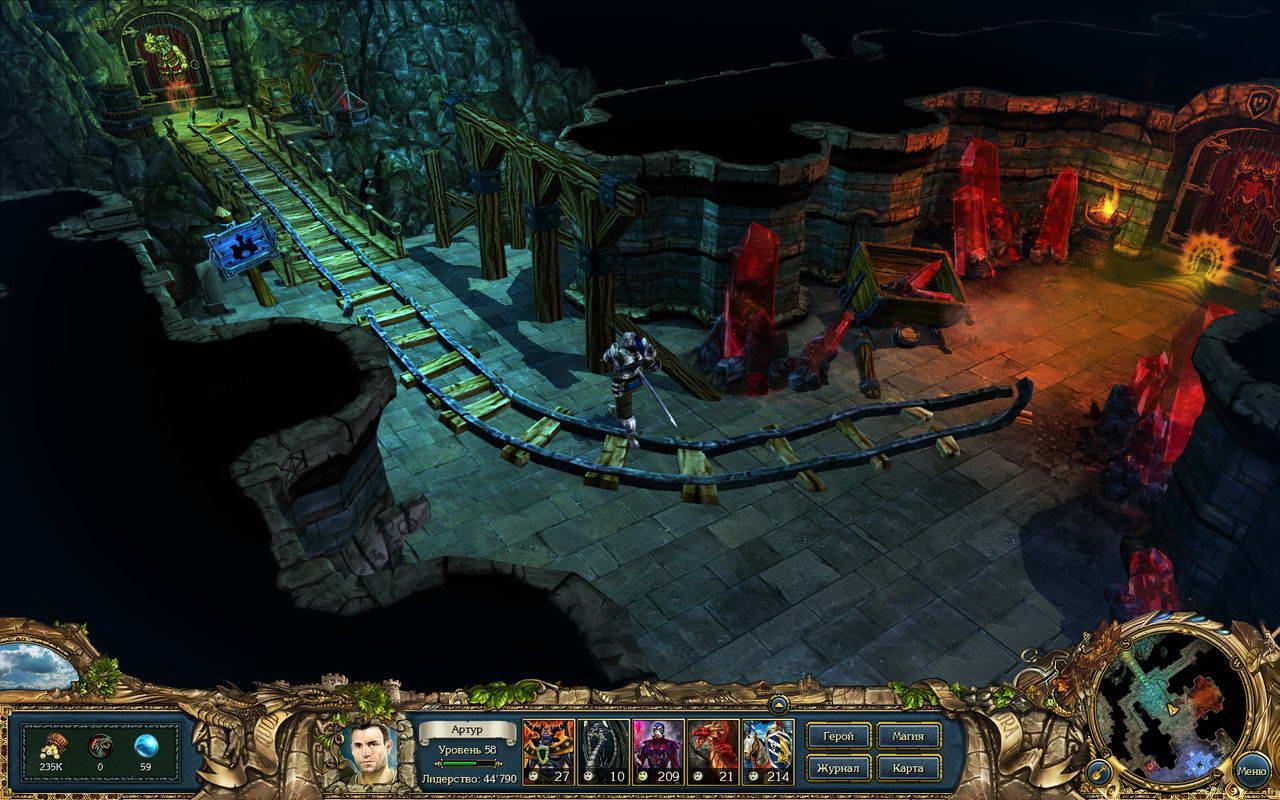 Скриншот King's Bounty: Crossworlds