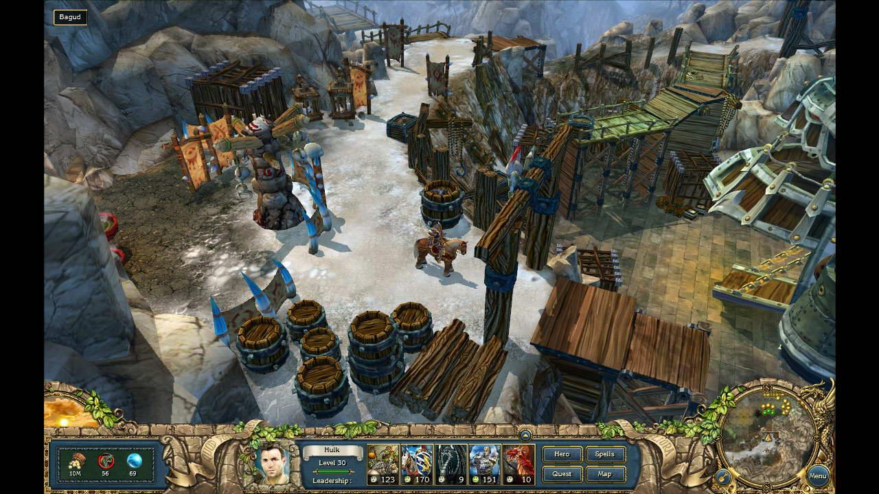 Скриншот King's Bounty. Легенда о рыцаре