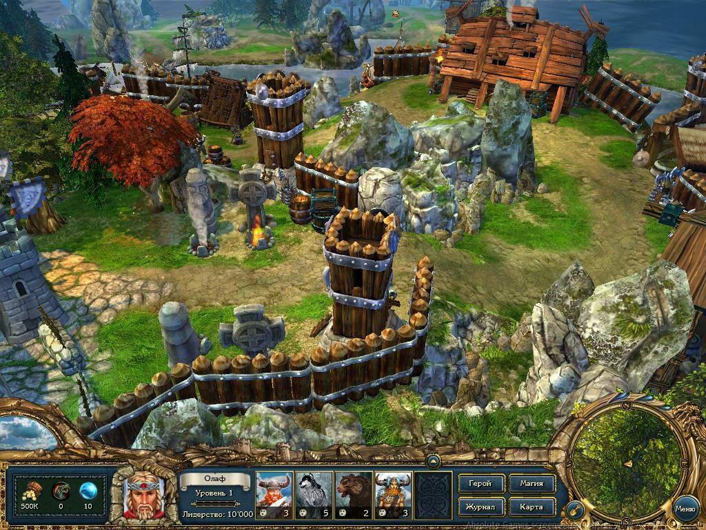 Скриншот King's Bounty: Воин Севера