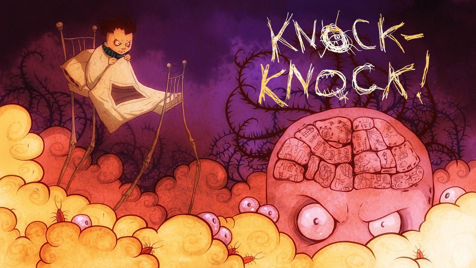 Арт Knock-knock