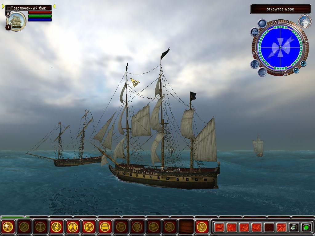 Скриншот Корсары III: Сундук мертвеца