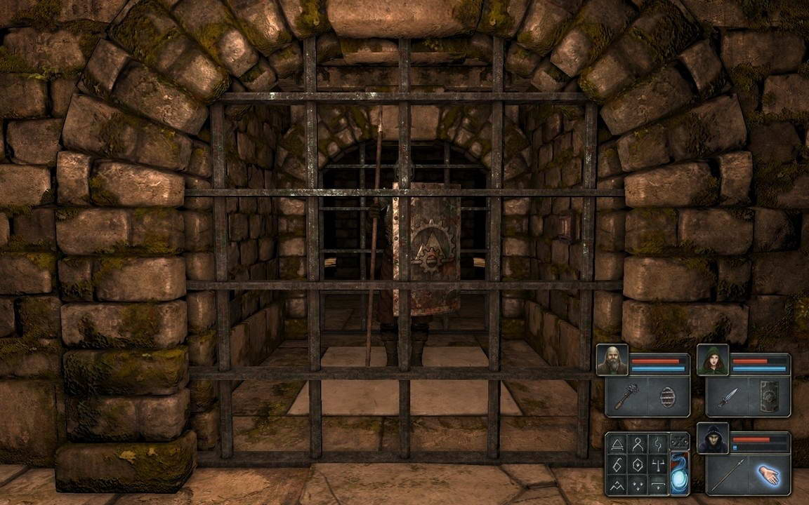 Скриншот Legend of Grimrock 2