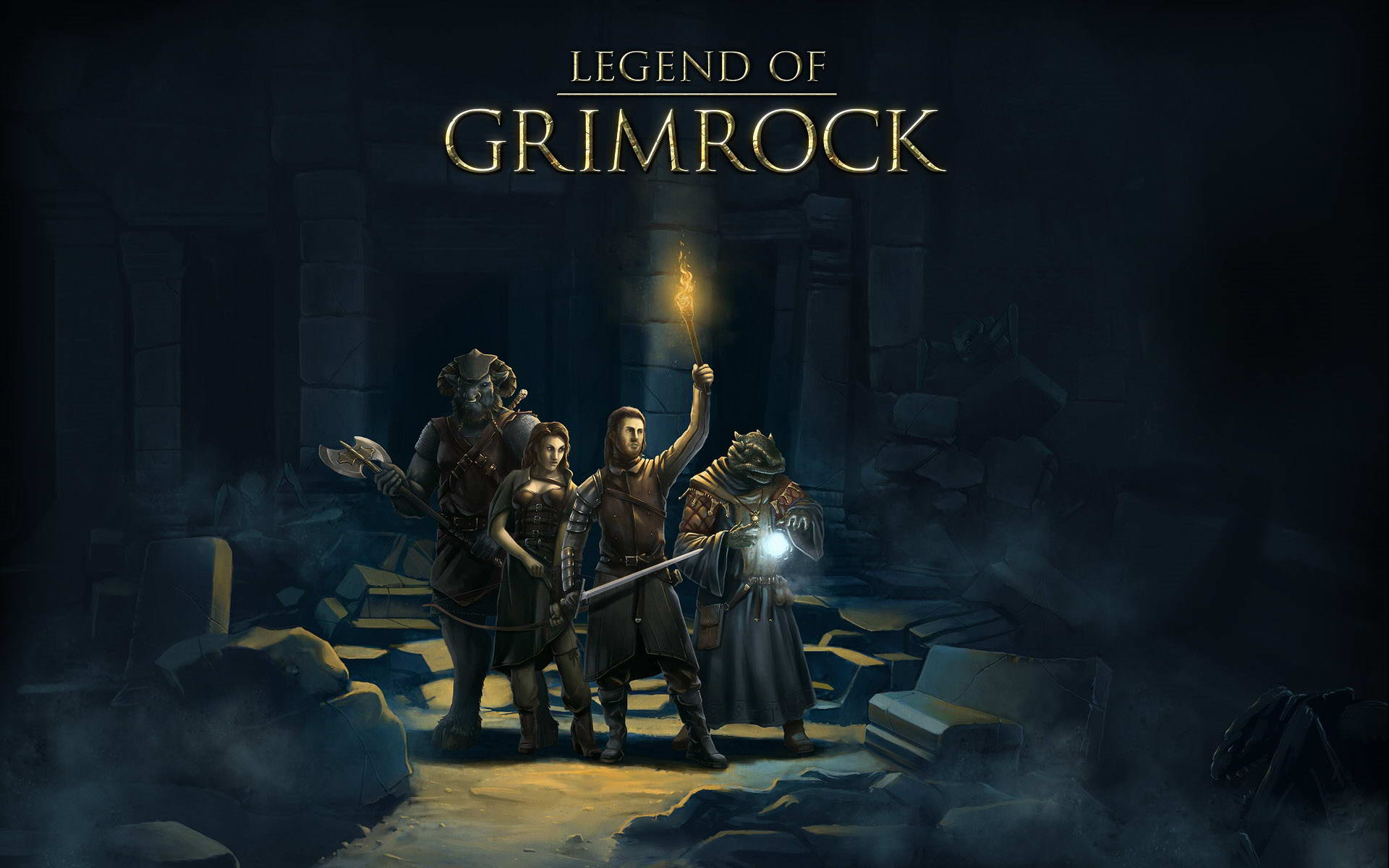 Скриншот Legend of Grimrock