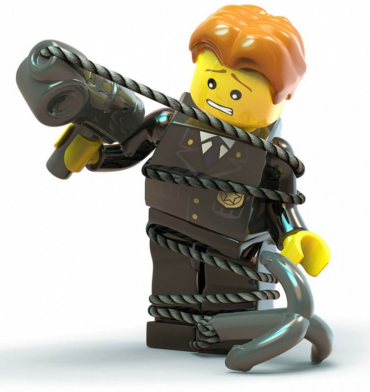 Арт LEGO City Undercover