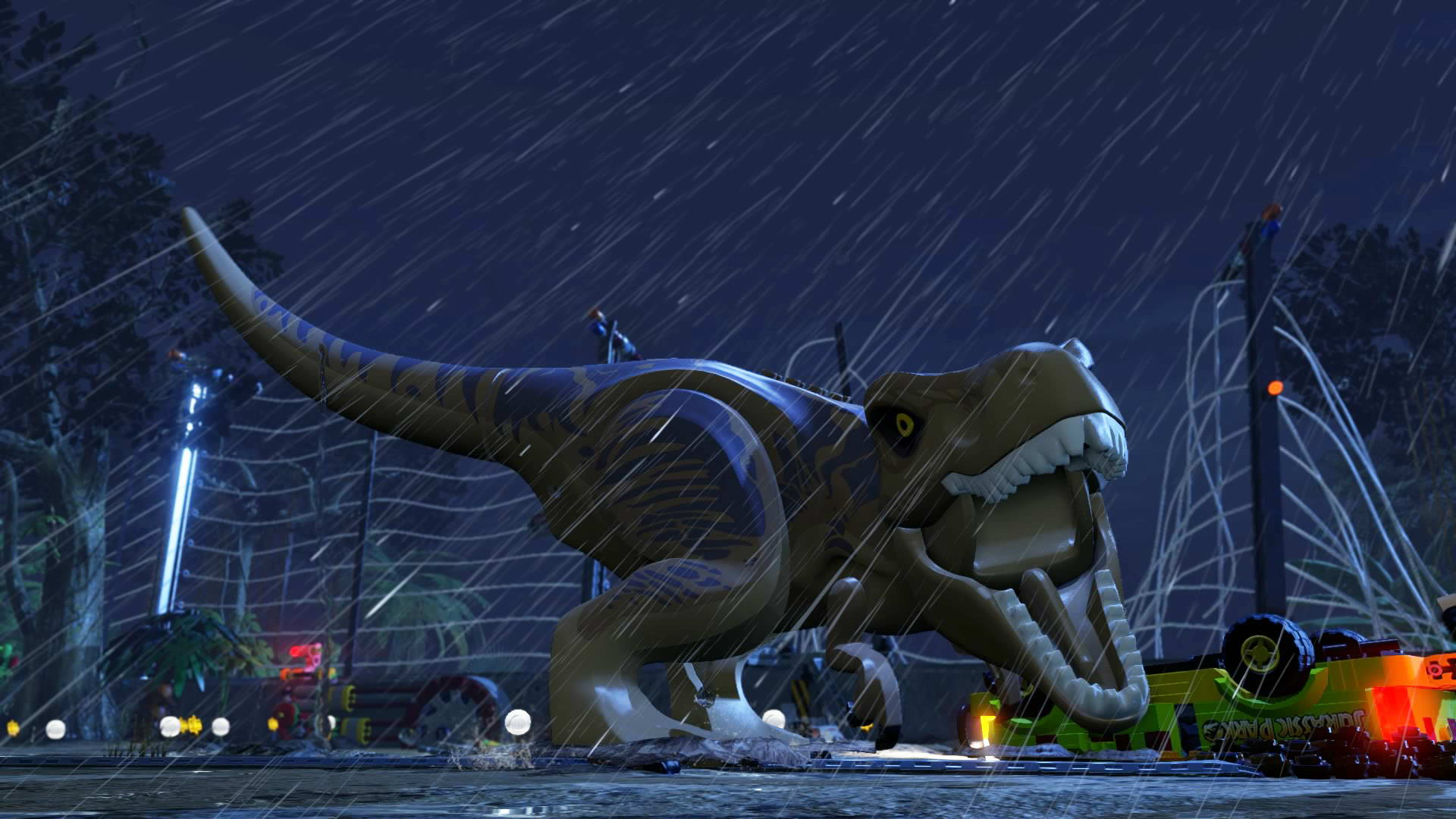 Скриншот LEGO Jurassic World