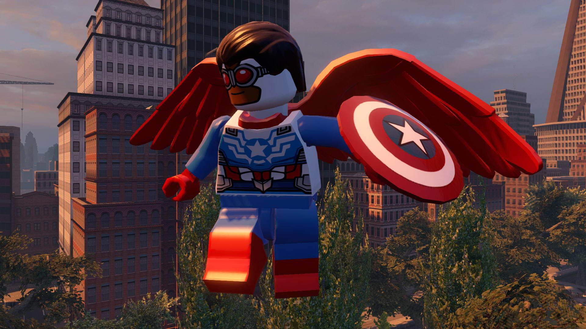 Скриншот LEGO Marvel's Avengers