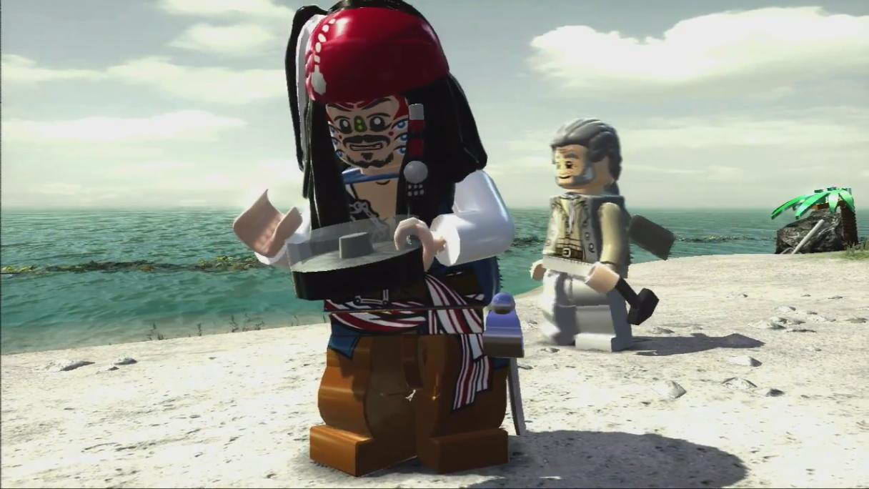 Скриншот LEGO Pirates of the Caribbean