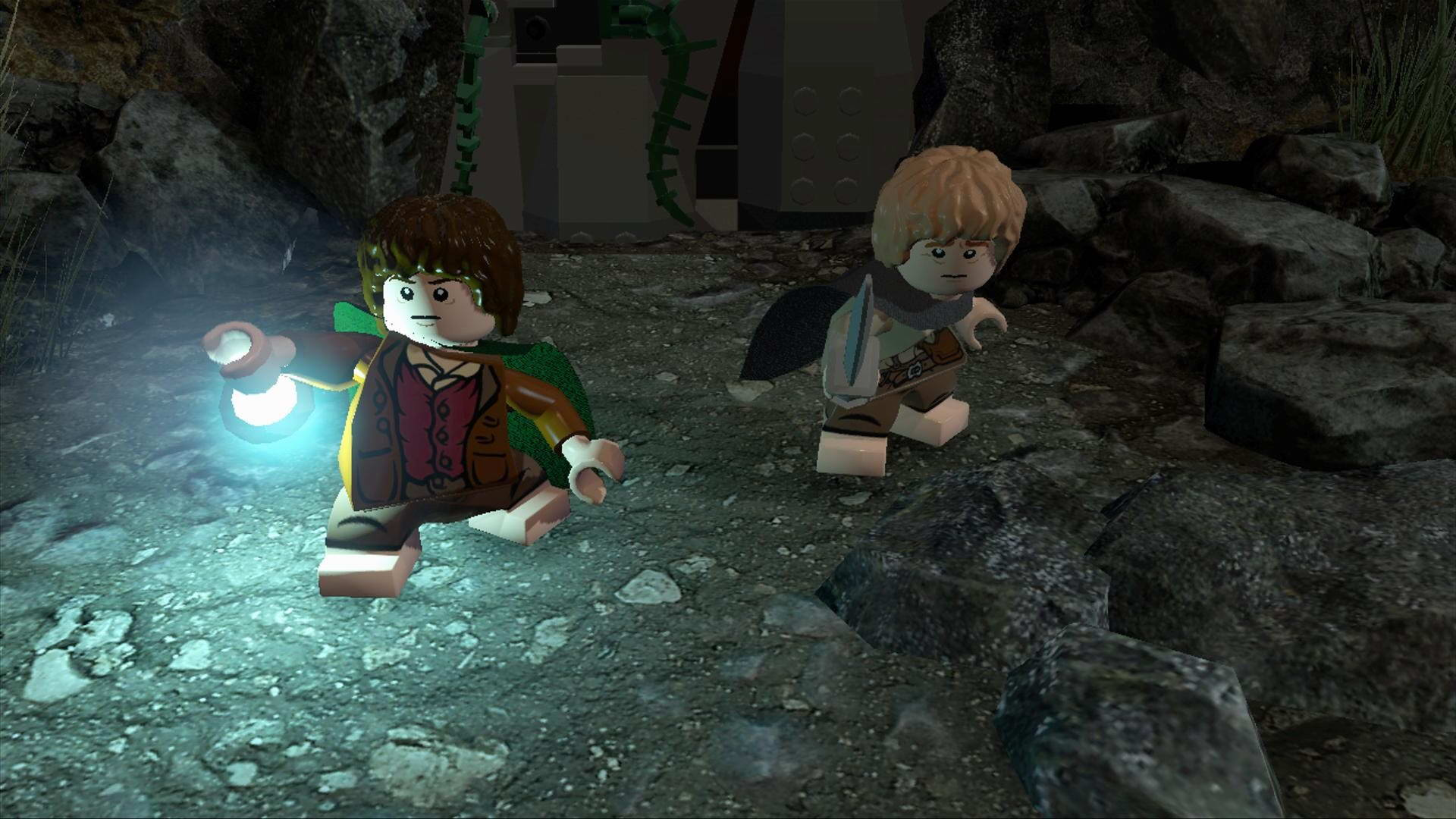Скриншот LEGO The Lord of the Rings
