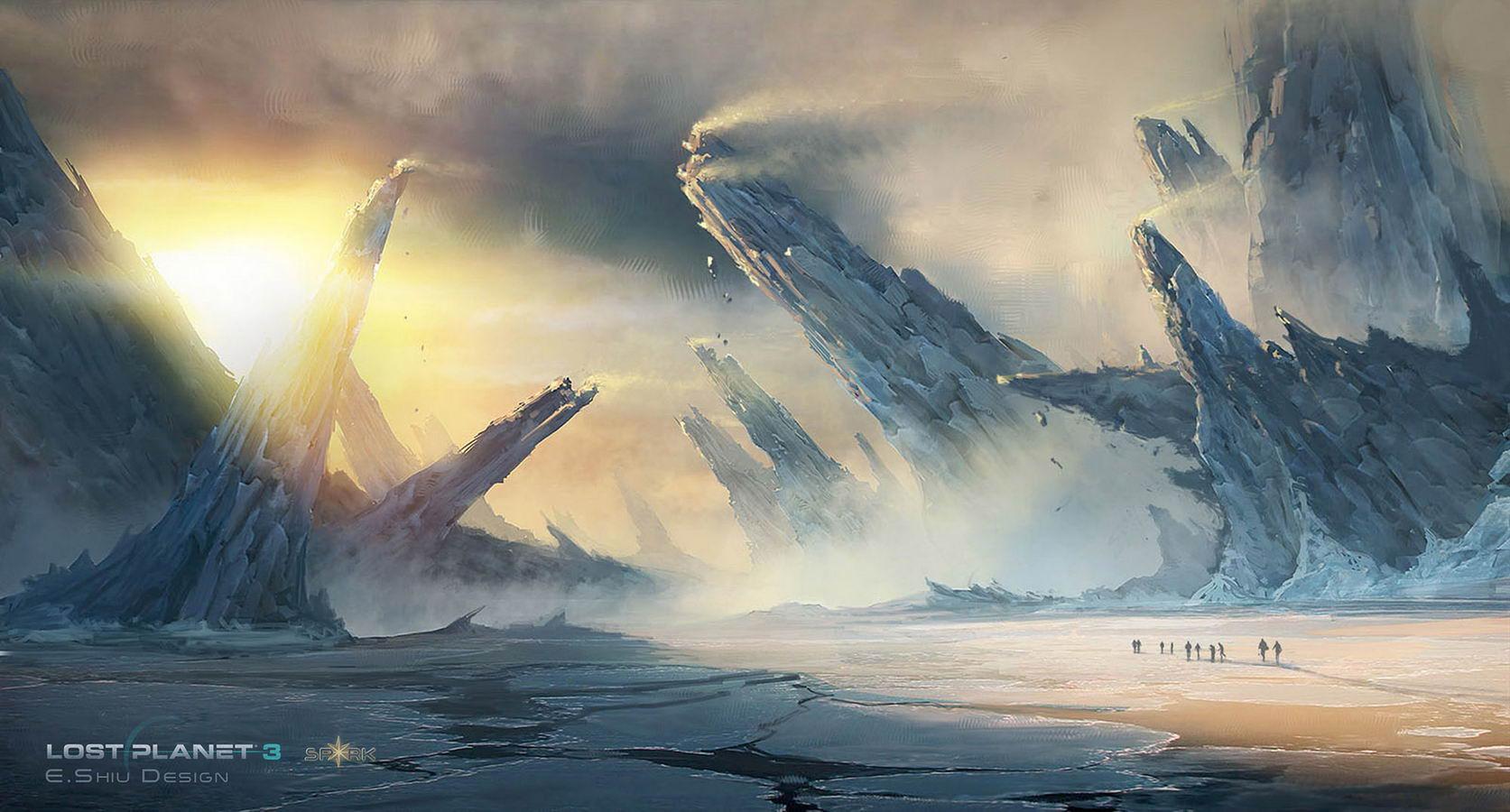 Арт Lost Planet 3