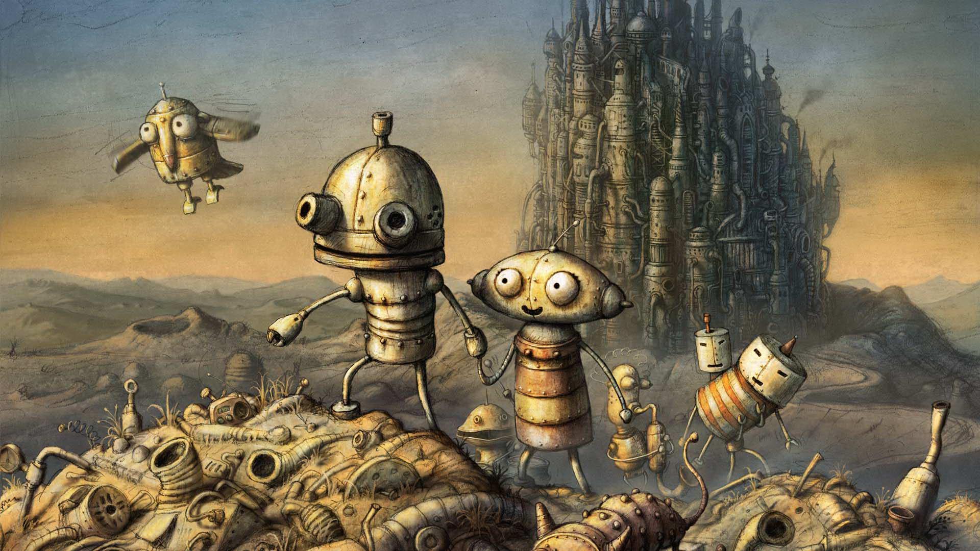 Скриншот Machinarium