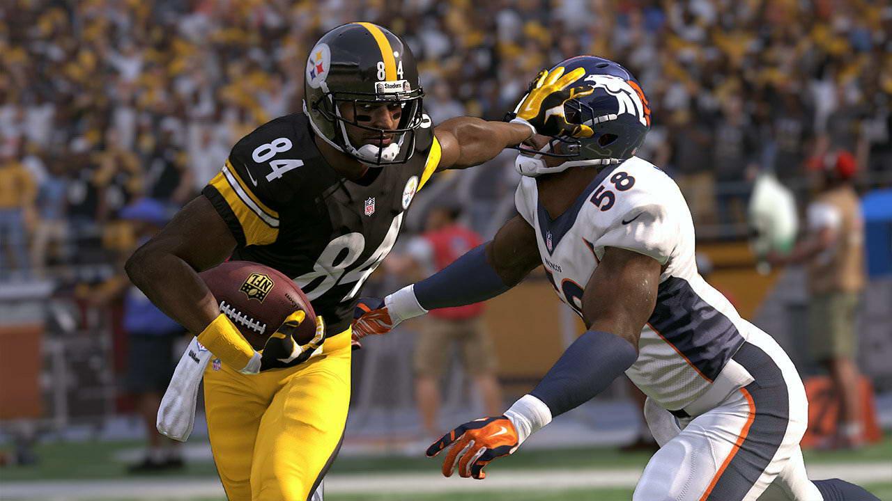 Скриншот Madden NFL 17