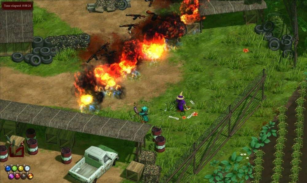 Скриншот Magicka: Vietnam