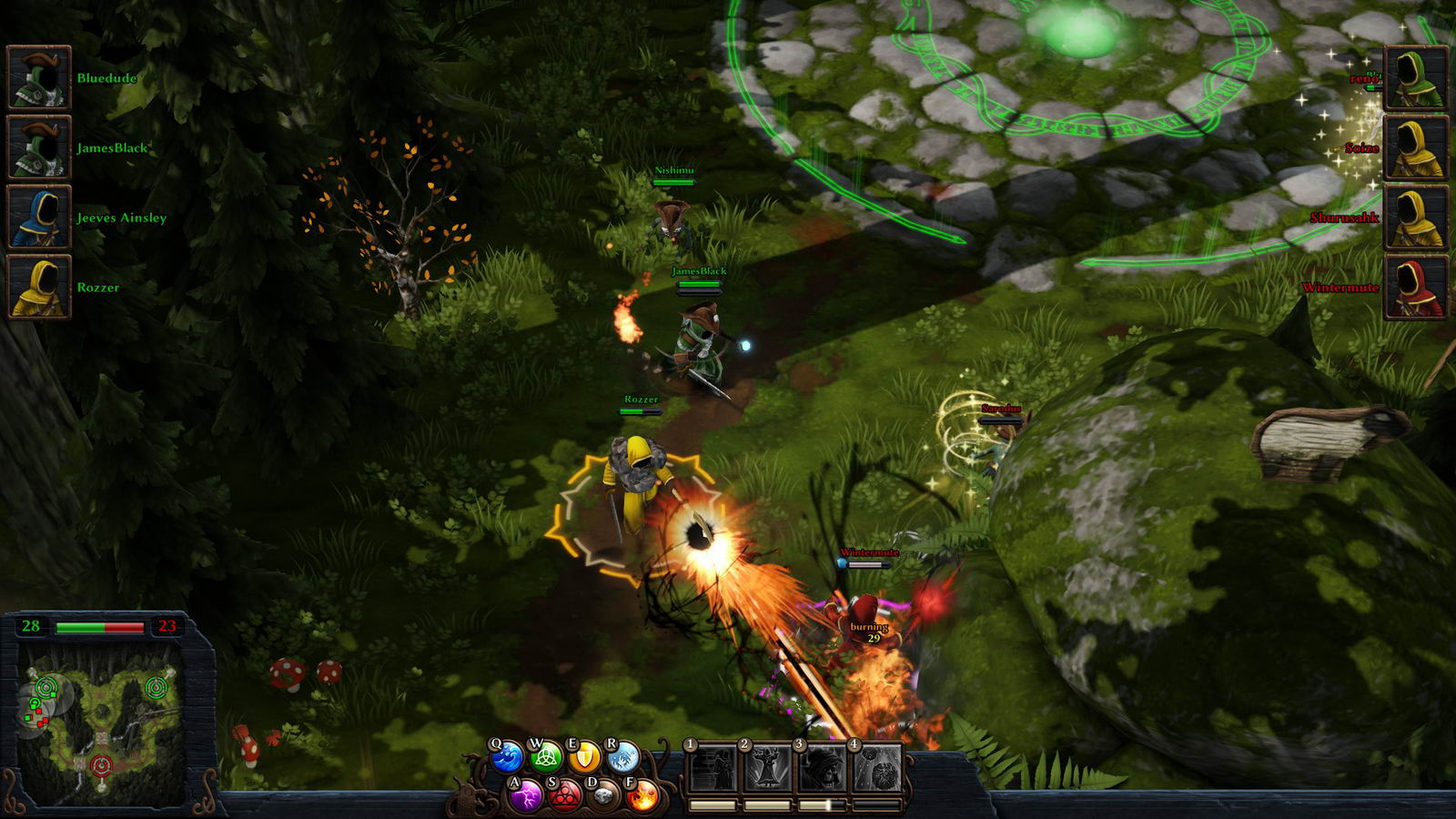 Скриншот Magicka: Wizard Wars