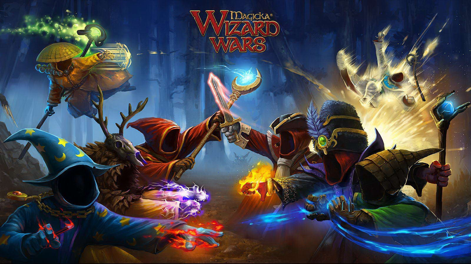 Арт Magicka: Wizard Wars