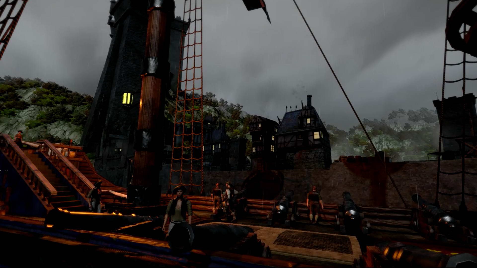 Скриншот Man O' War: Corsair