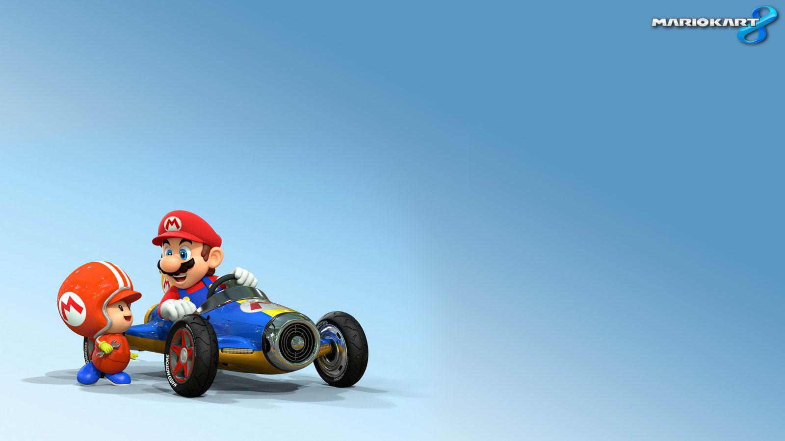Арт Mario Kart 8