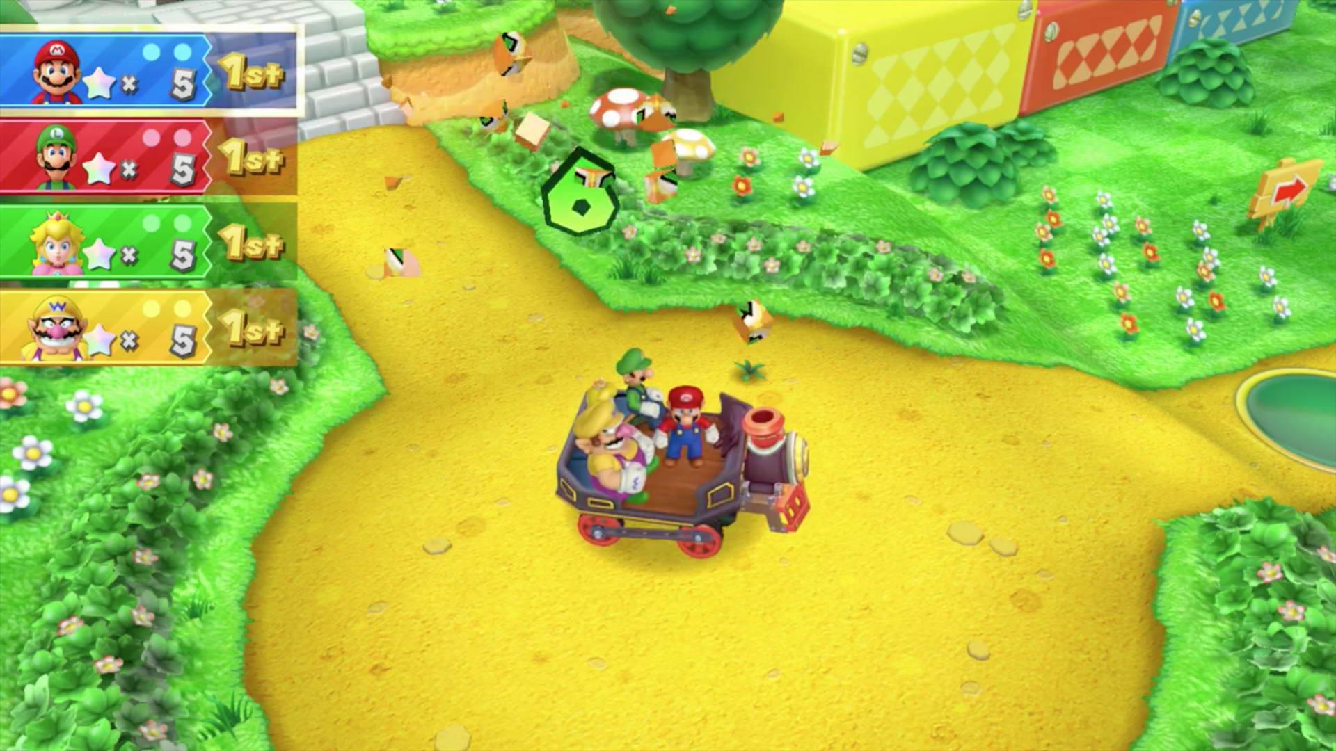 Скриншот Mario Party 10