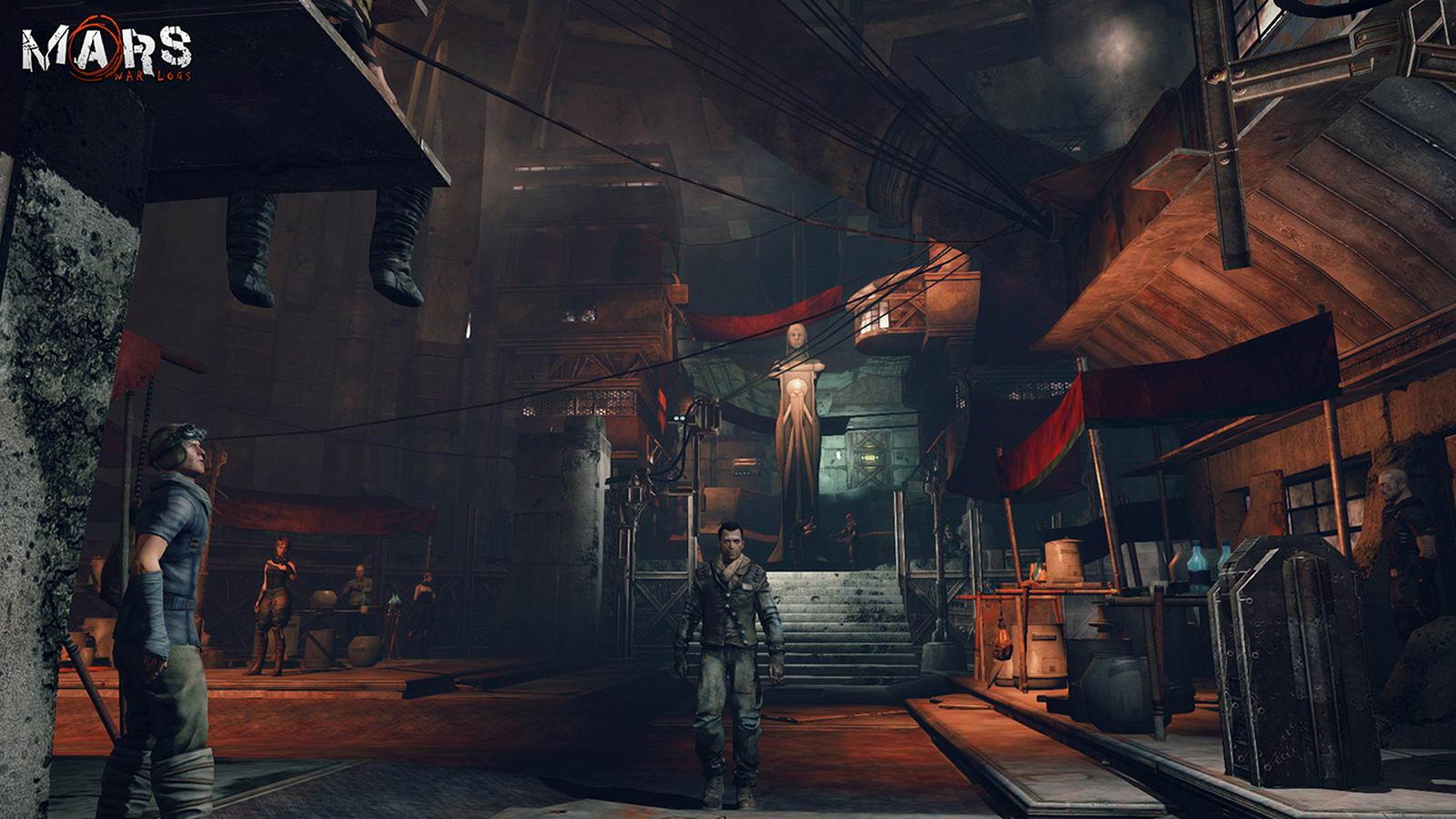 Скриншот Mars: War Logs