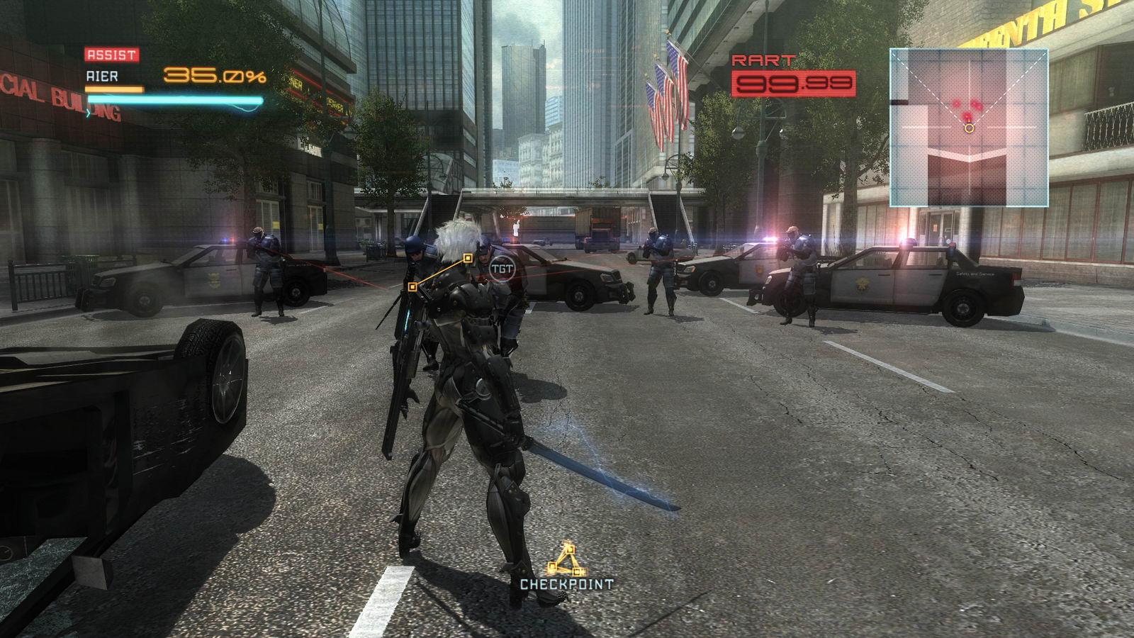 Скриншот Metal Gear Rising: Revengeance