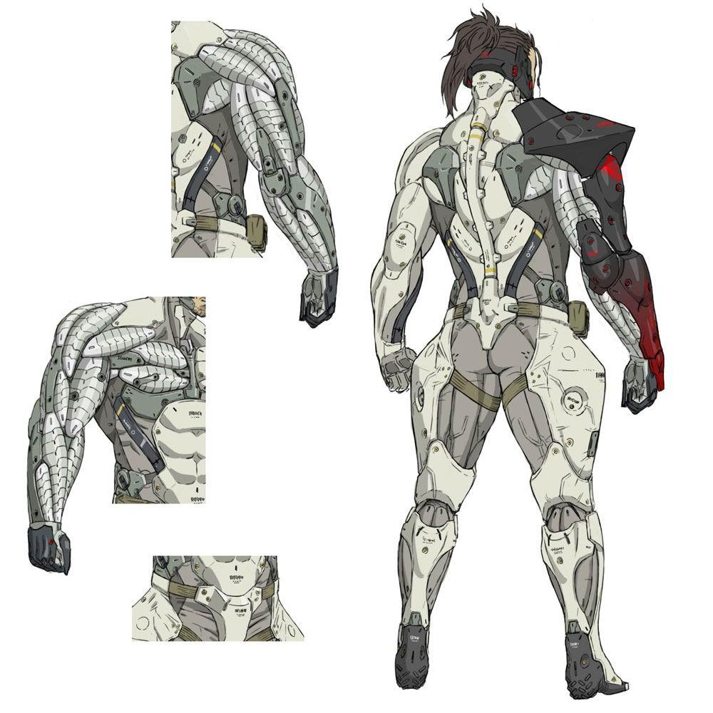 Арт Metal Gear Rising: Revengeance
