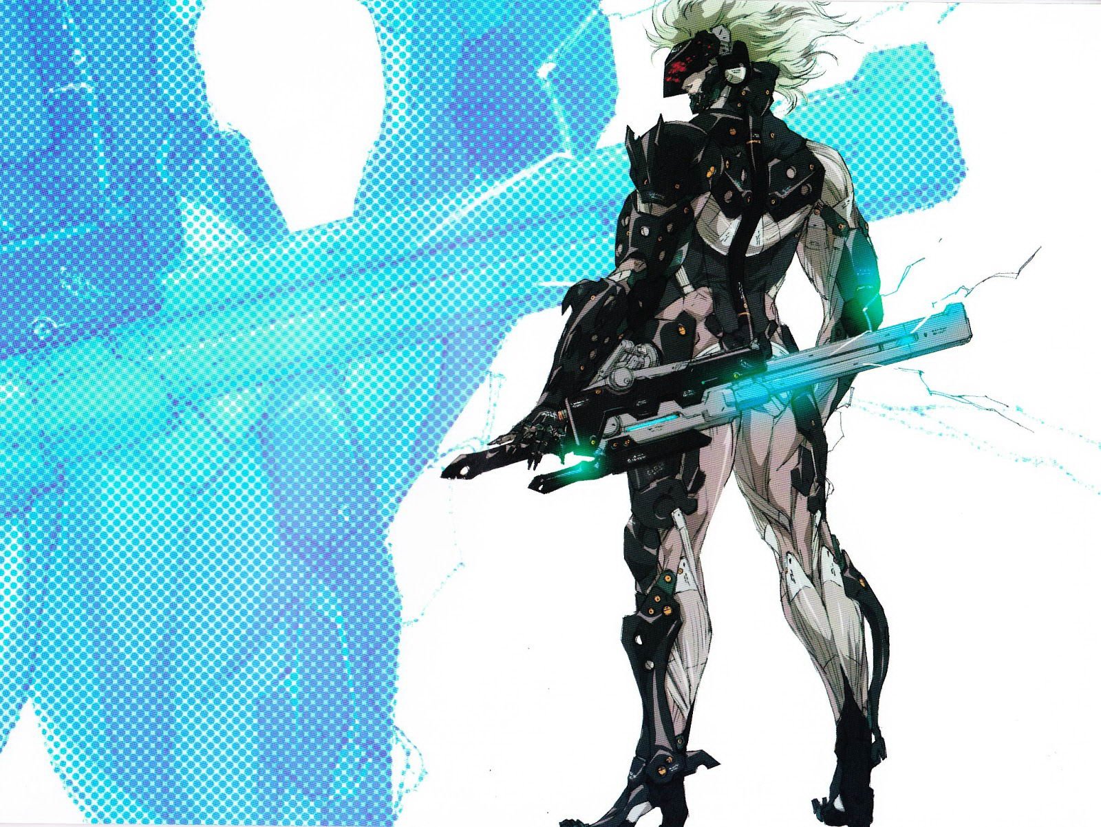 Арт Metal Gear Rising: Revengeance