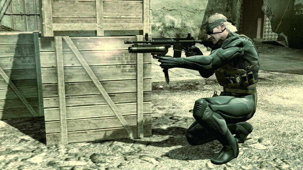Скриншот Metal Gear Solid 4: Guns of the Patriots