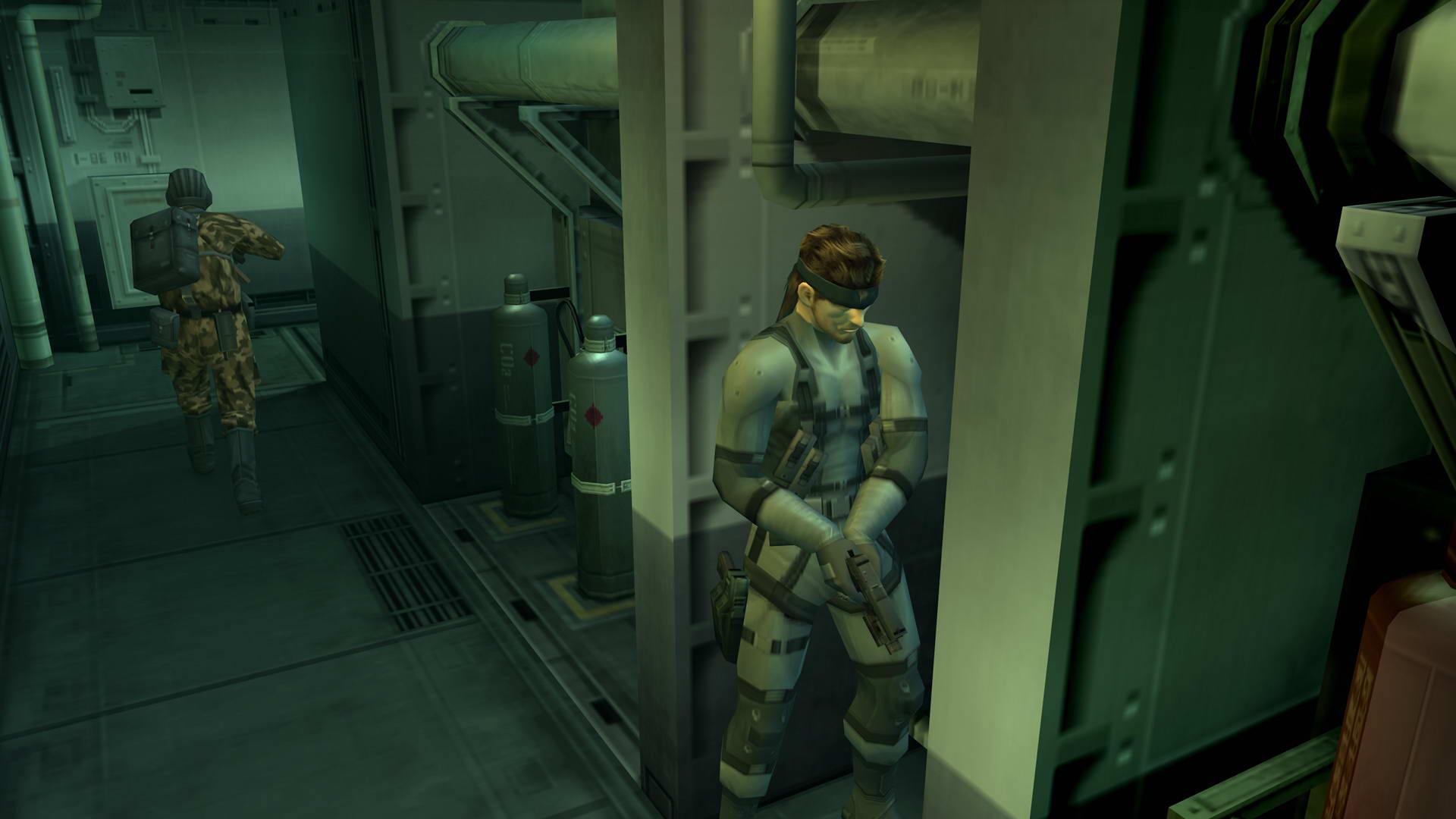 Скриншот Metal Gear Solid HD Collection