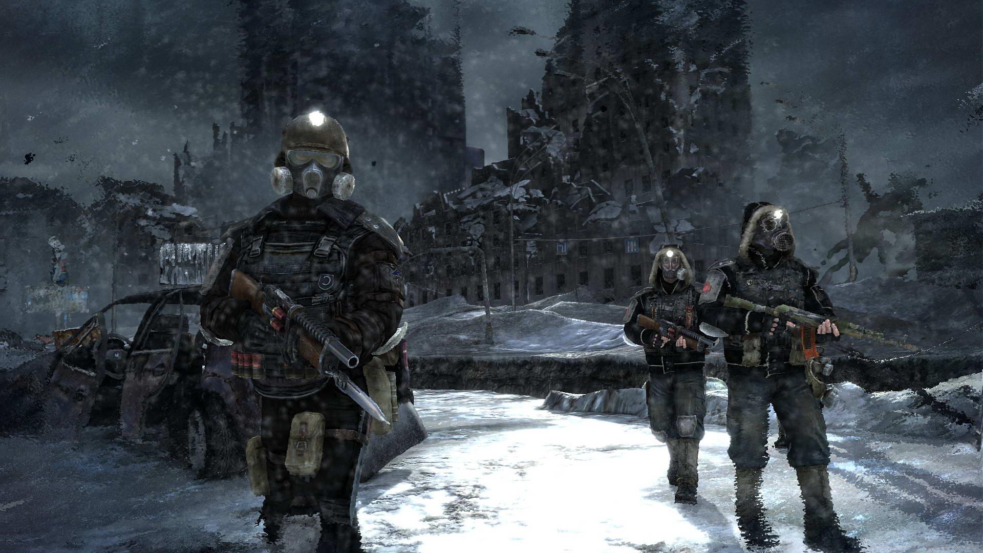 Скриншот Metro 2033