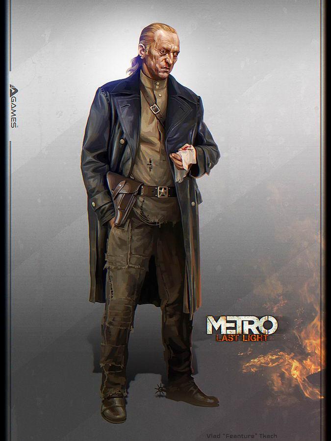 Арт Metro: Last Light