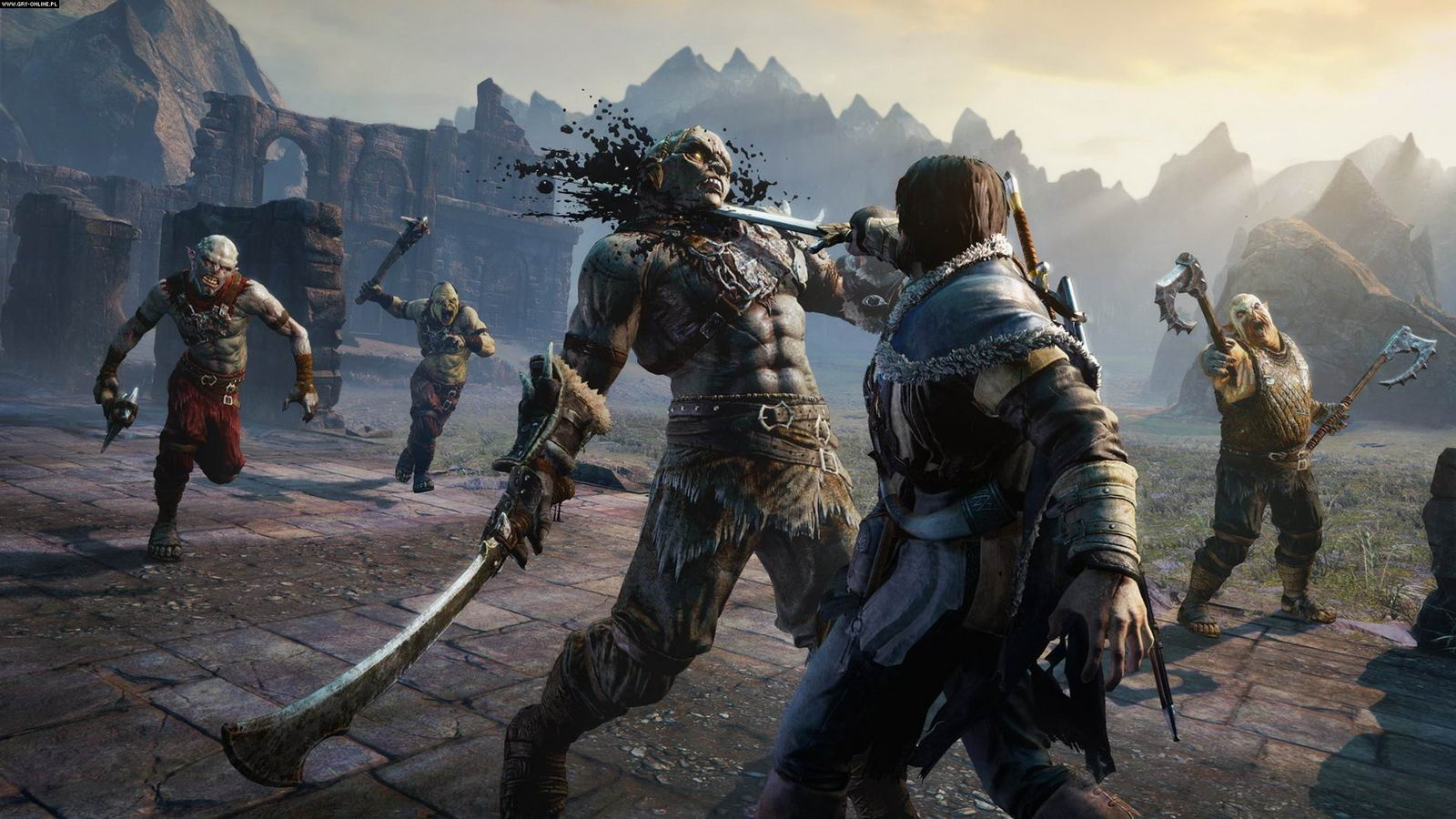 Скриншот Middle-earth: Shadow of Mordor