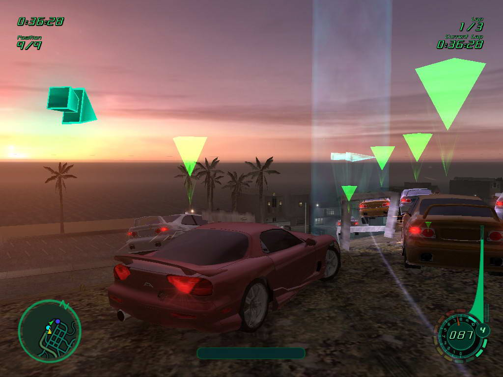 Скриншот Midnight Club 2
