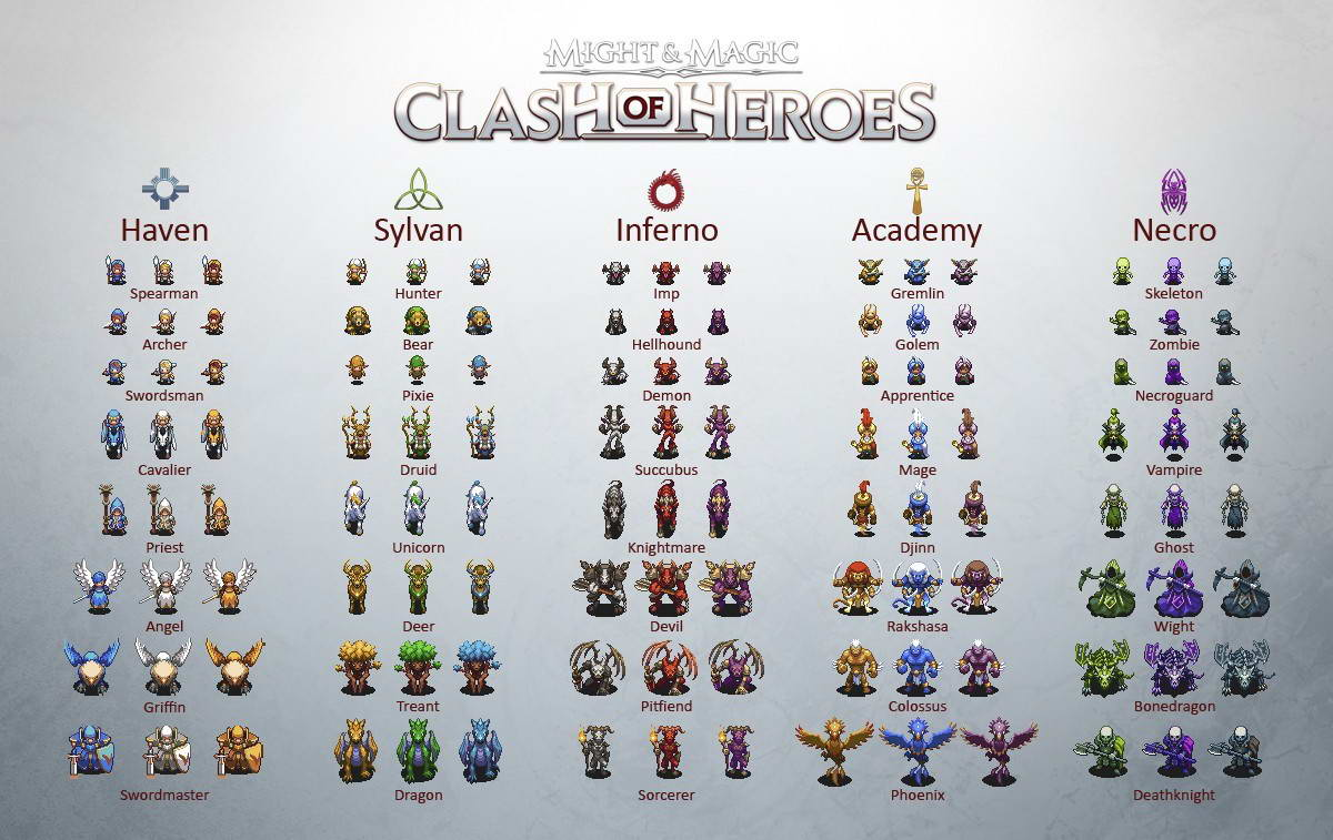 Скриншот Might and Magic: Clash of Heroes