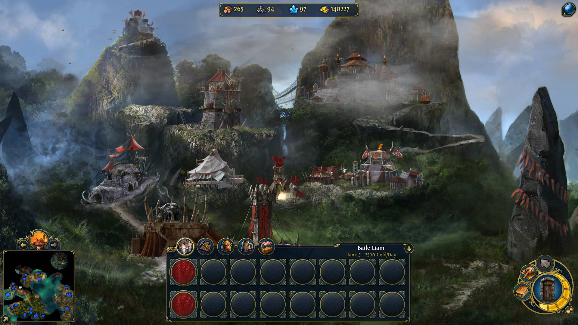 Скриншот Might & Magic Heroes VI: Pirates of the Savage Sea