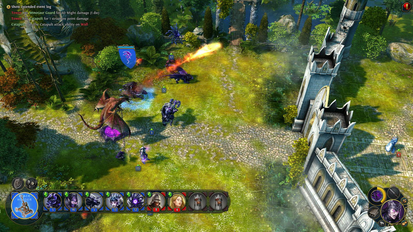 Скриншот Might & Magic Heroes VI - Shades of Darkness