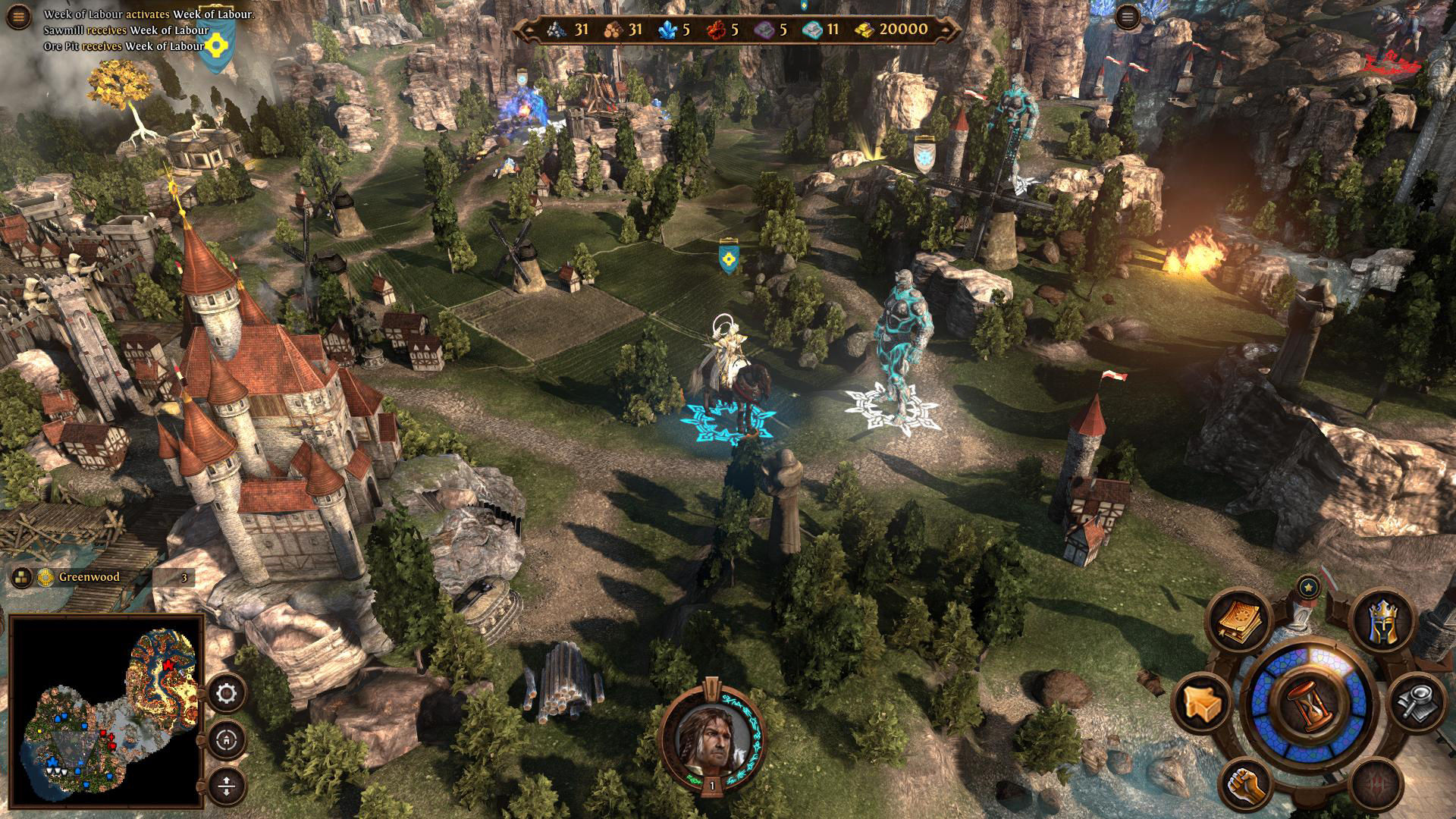Скриншот Might and Magic Heroes VII