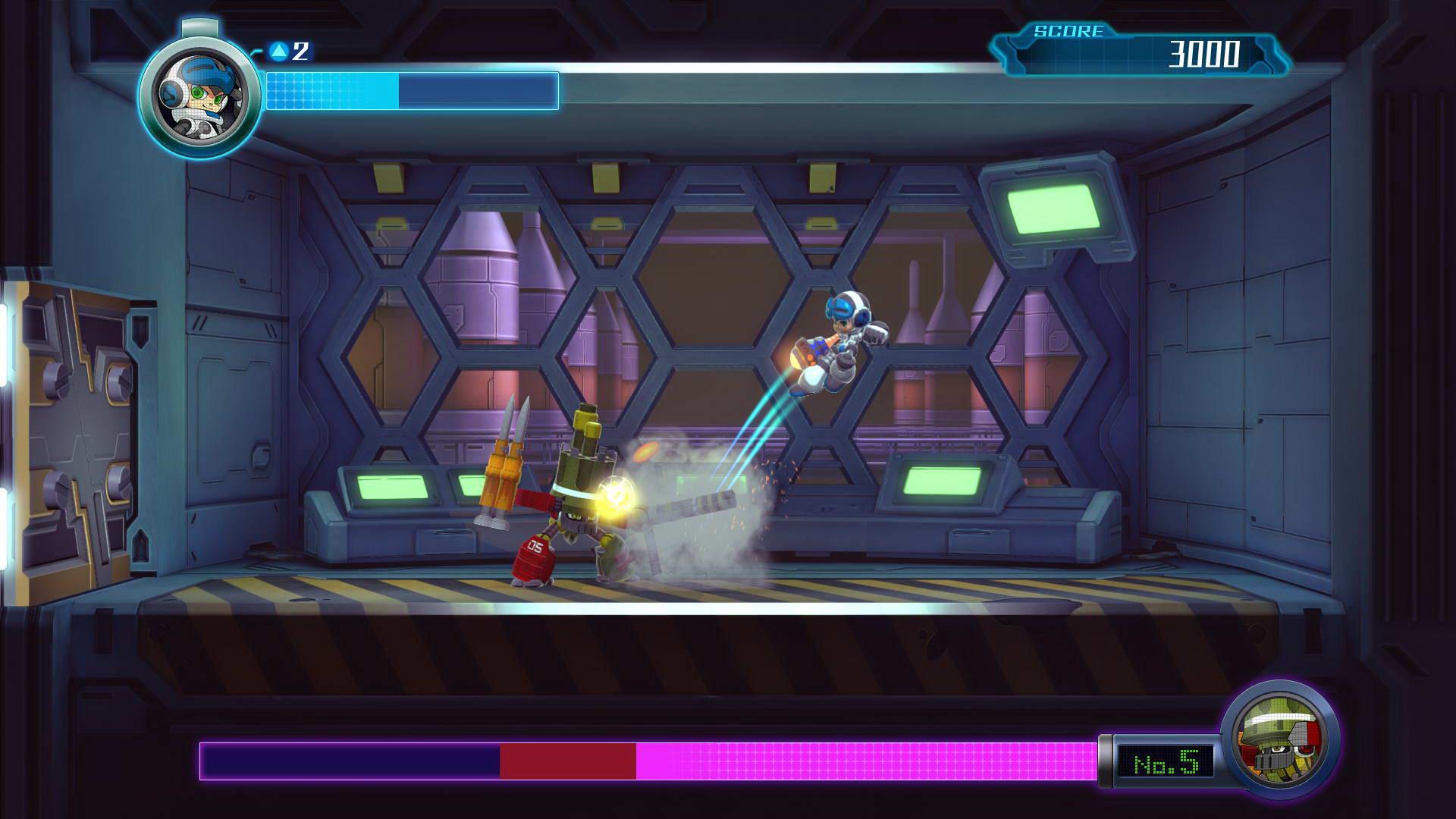 Скриншот Mighty No. 9