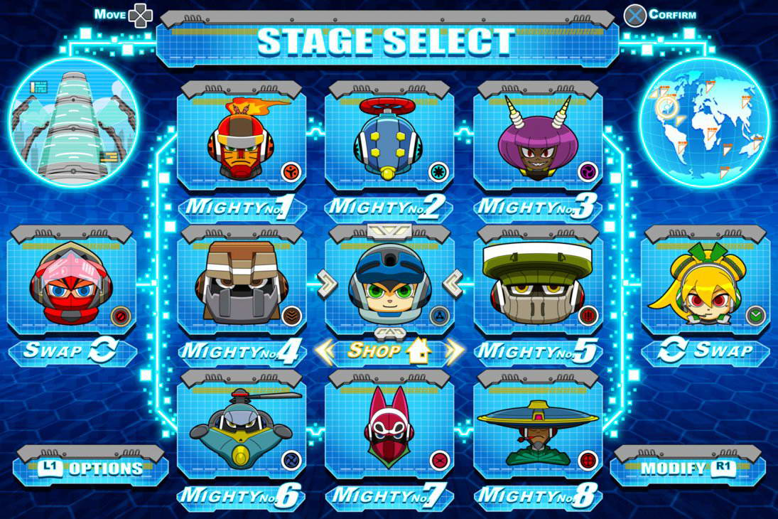 Скриншот Mighty No. 9