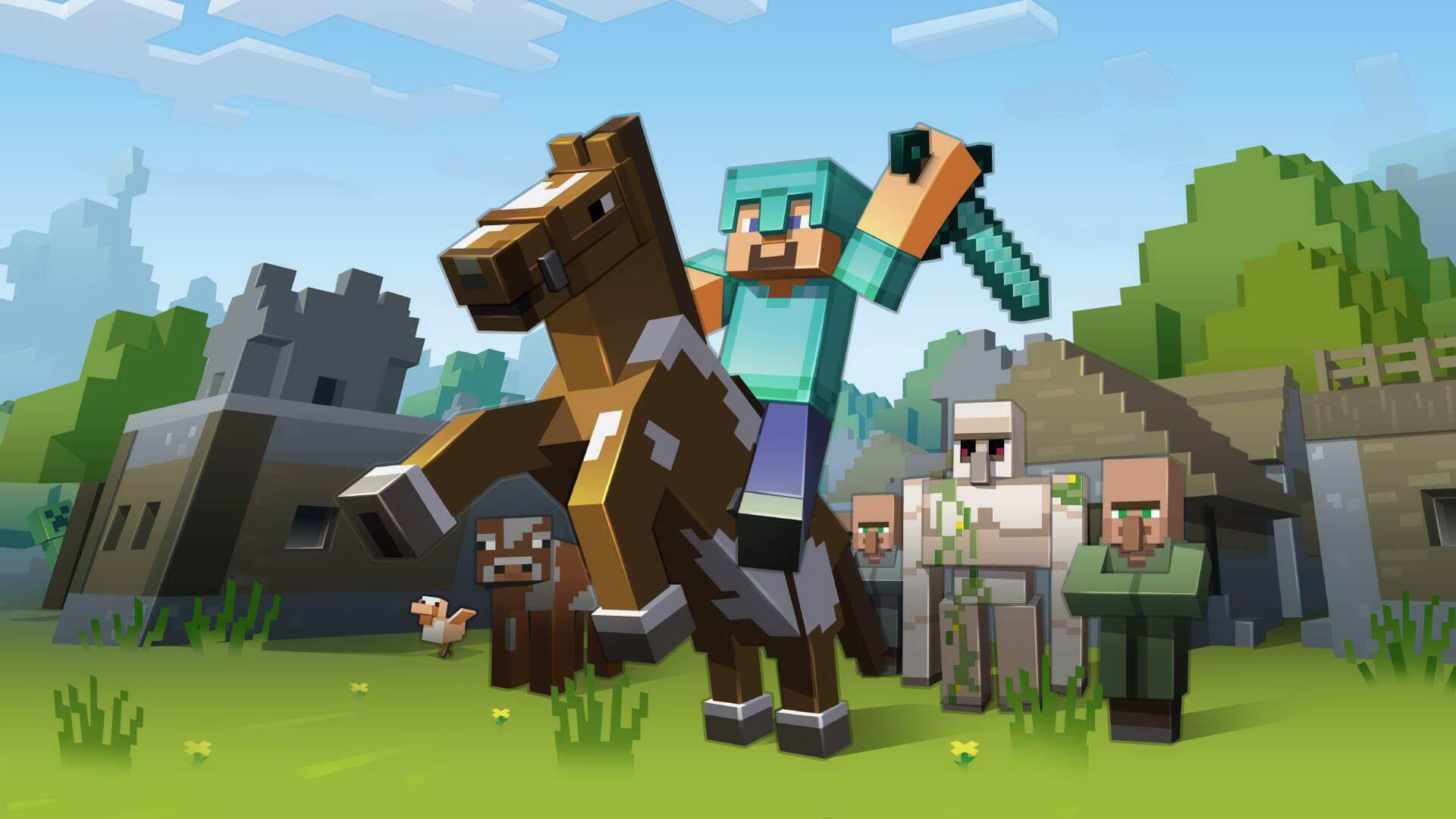 Скриншот Minecraft: Story Mode - Episode 1 - The Order of the Stone