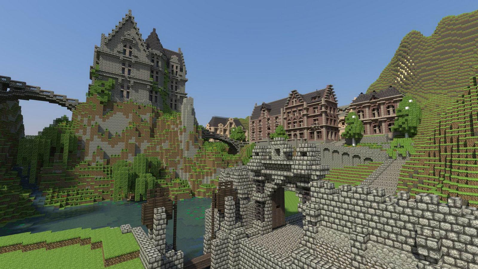 Скриншот Minecraft: Xbox 360 Edition
